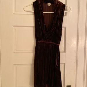 Wilfred Dresses - Aritzia Wilfred Velvet Sabine Dress